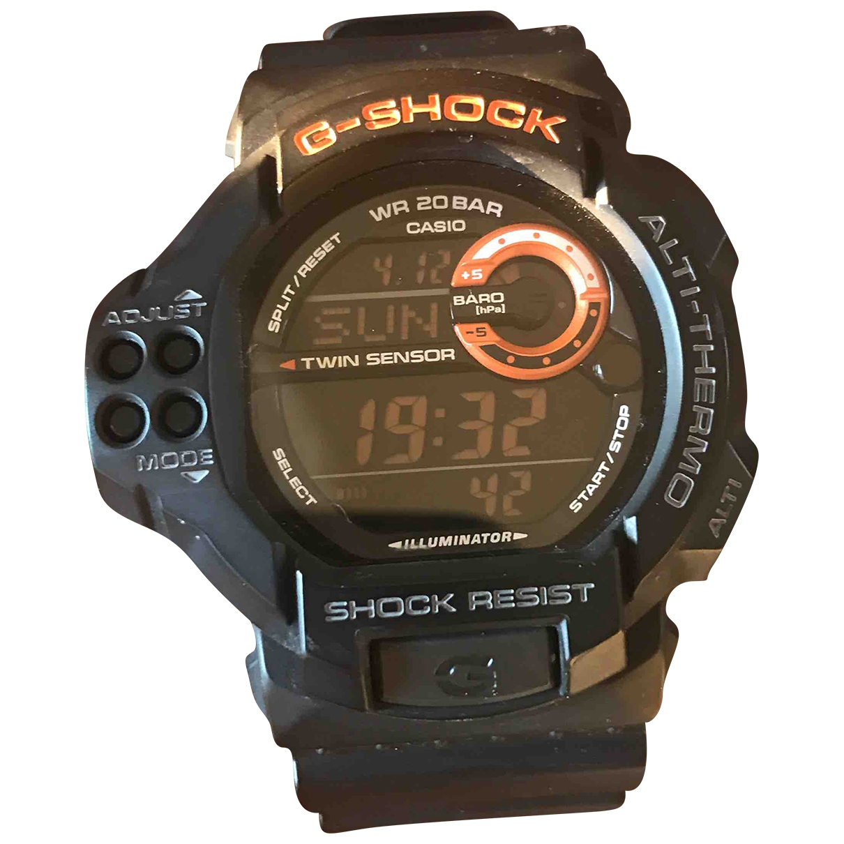 G-shock \N Black Steel watch for Men \N
