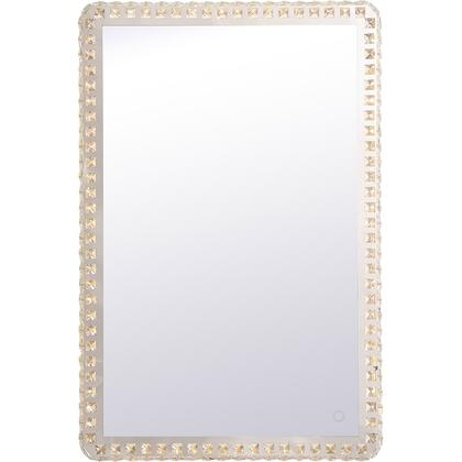 Evelyn Collection MRE62436C Rectangle 24In X 36In Hardwired LED Mirror With Touch Sensor And Color Changing Temperature