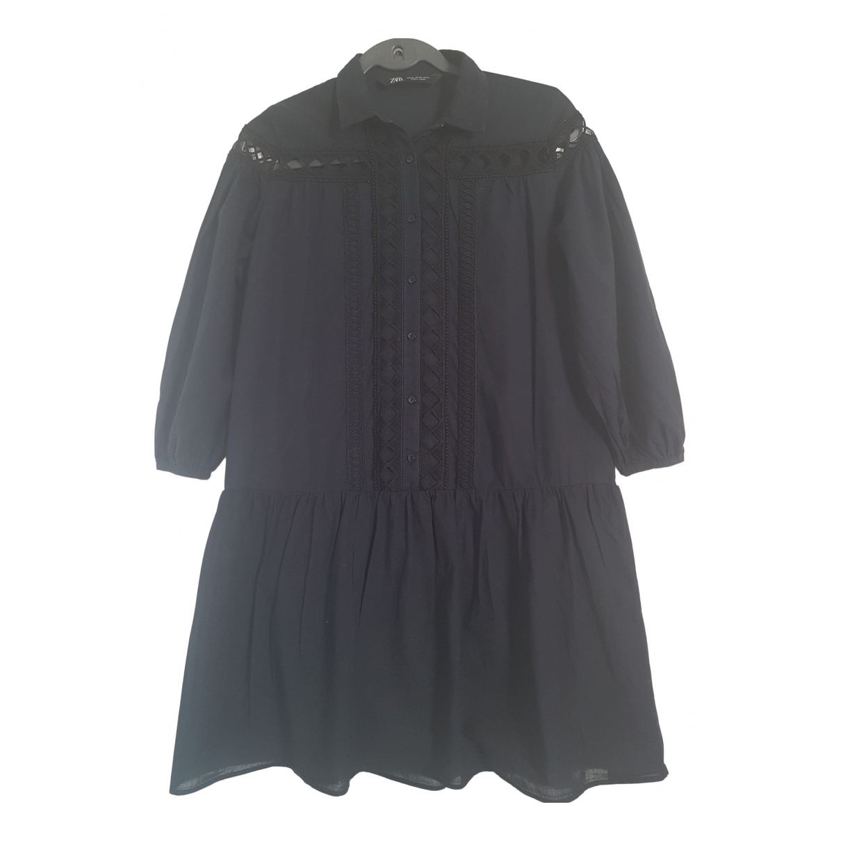 Zara \N Black Cotton dress for Women XS International