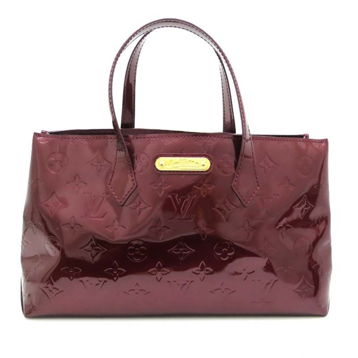 Louis Vuitton Wilshire Red Patent leather handbag for Women \N