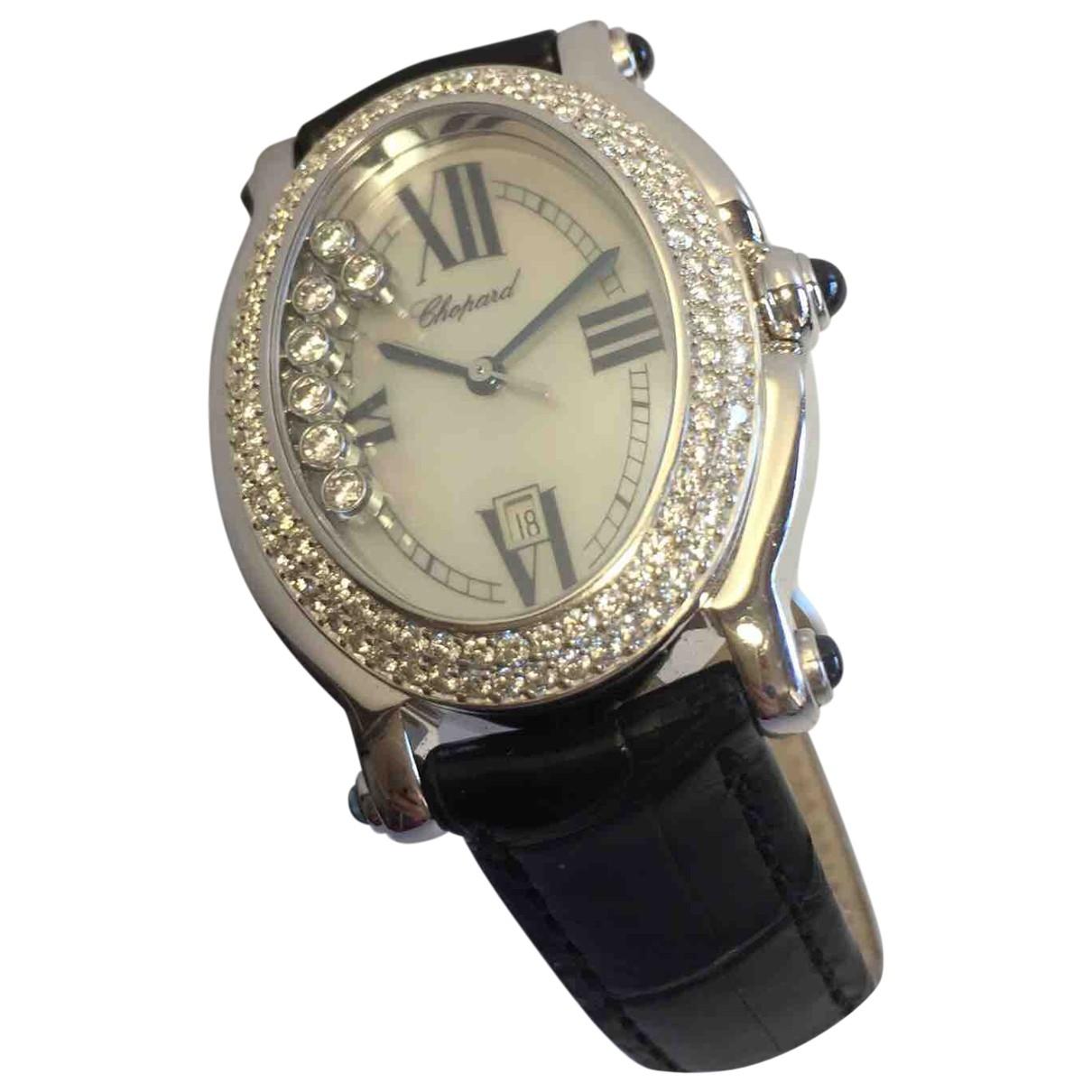 Reloj Happy Diamonds de Oro blanco Chopard
