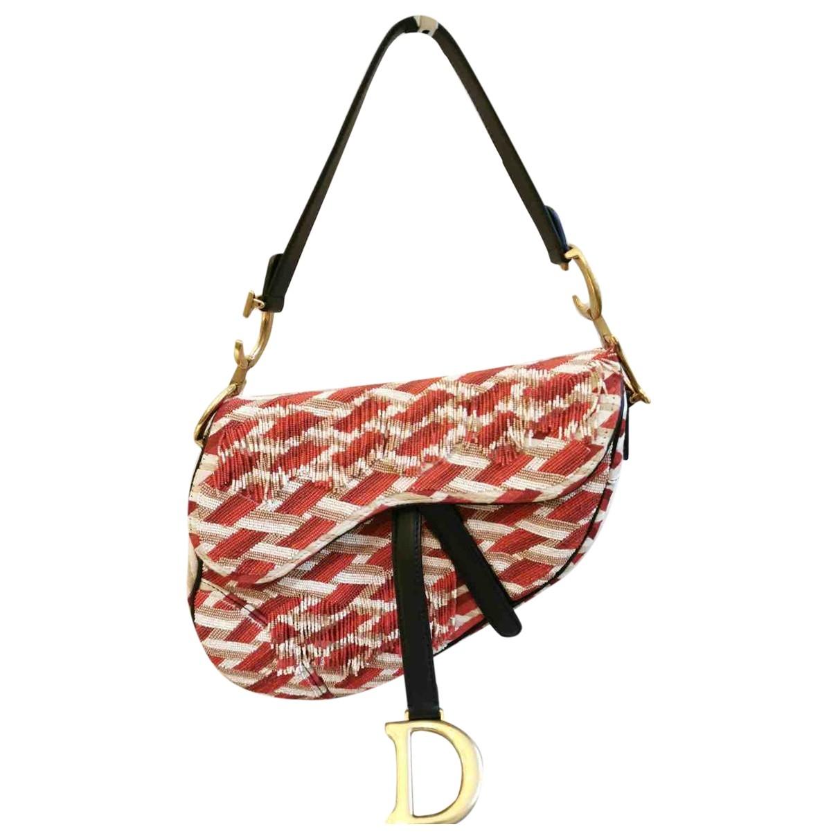 Bolso  Saddle de Con lentejuelas Dior