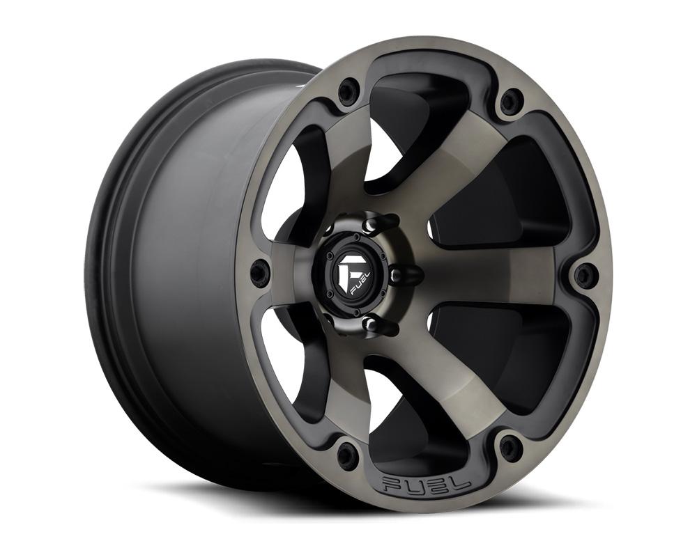 Fuel D564 Beast Black & Machined w/ Dark Tint 1-Piece Cast Wheel 16x8 6x139.7 01mm