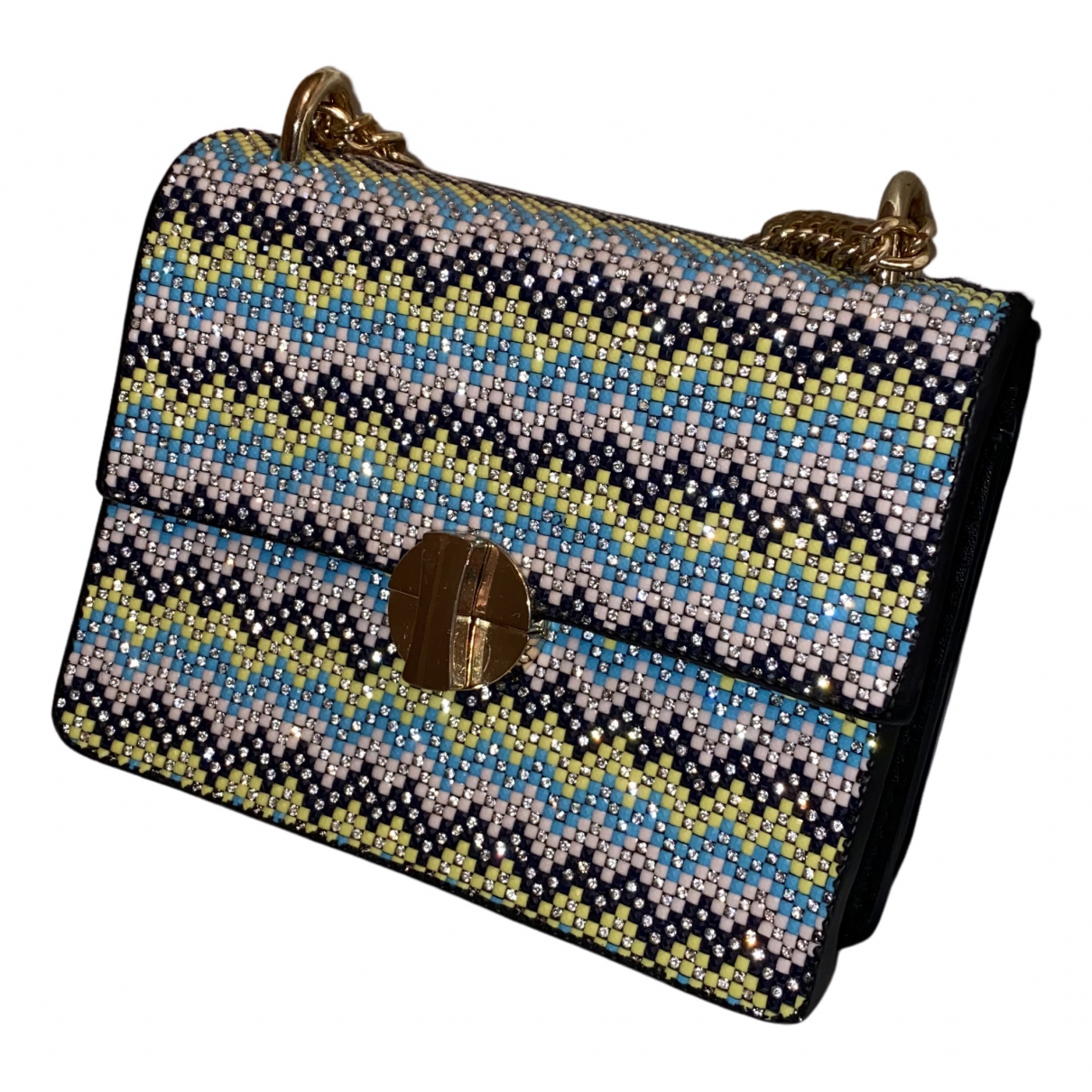 tophop N Multicolour Glitter Clutch bag for Women N