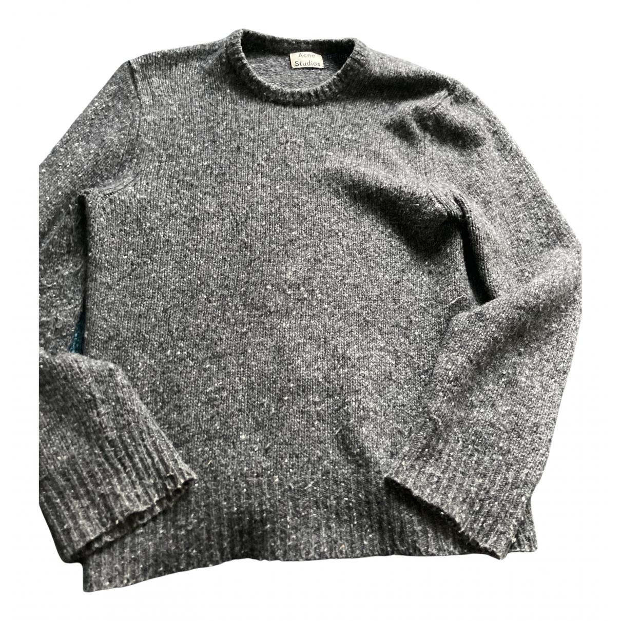 Acne Studios N Grey Wool Knitwear for Women M International