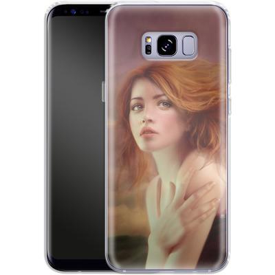Samsung Galaxy S8 Plus Silikon Handyhuelle - Melanie Delon - Hope von TATE and CO