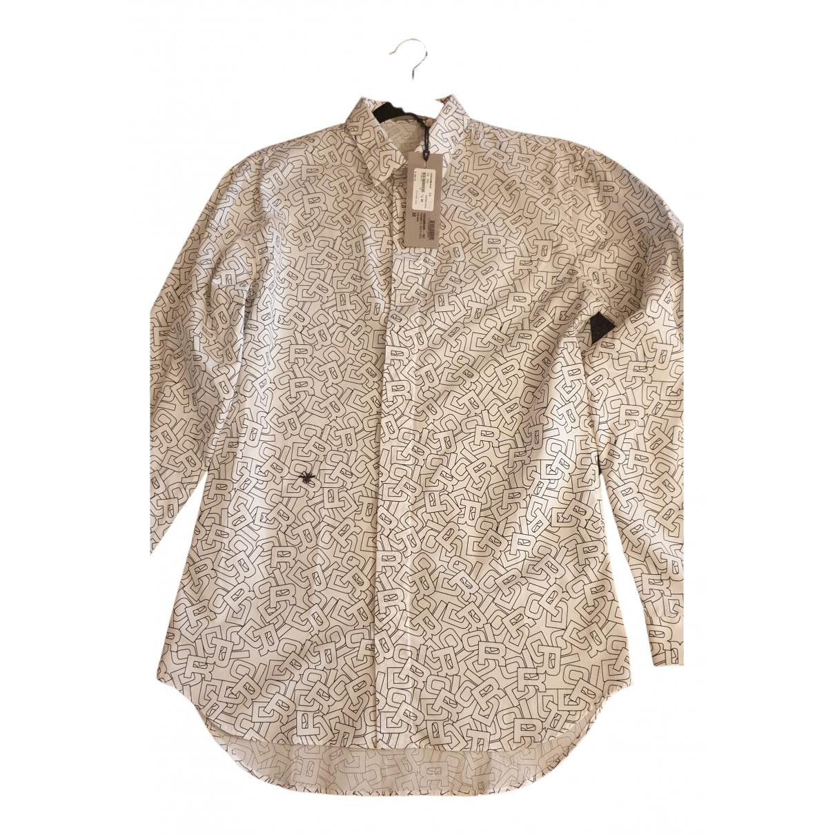 Dior Homme - Chemises   pour homme en coton - blanc