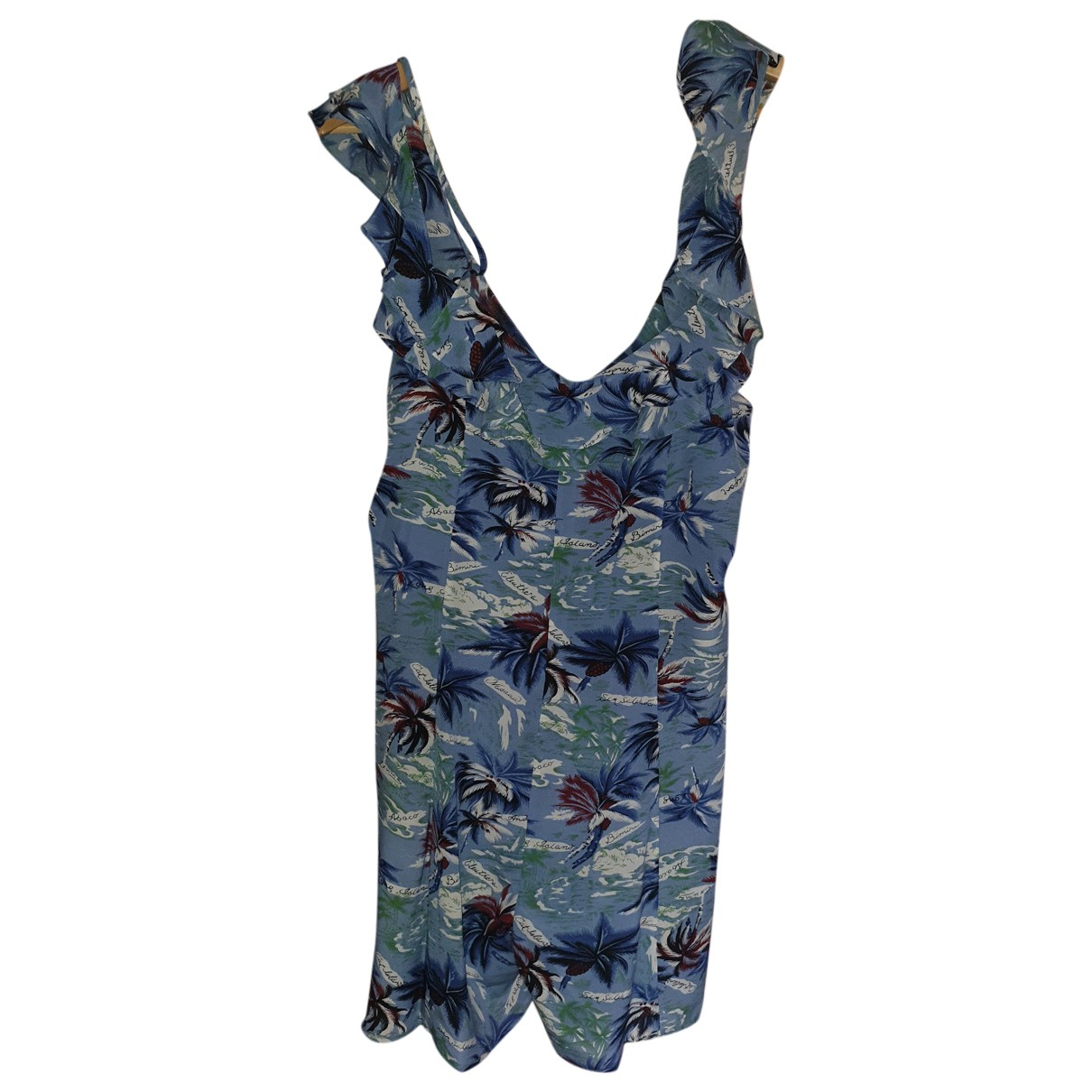 The Kooples Spring Summer 2020 Blue Cotton dress for Women 2 0-5