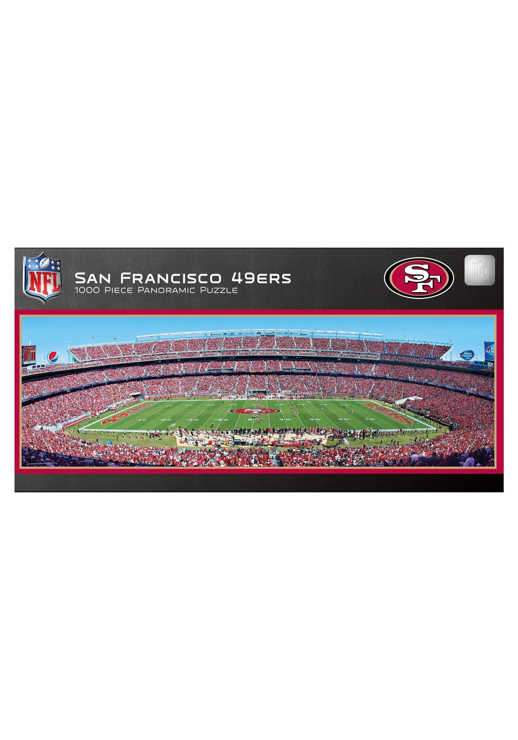 San Francisco 49ers NFL 1000 Piece Stadium Puzzle