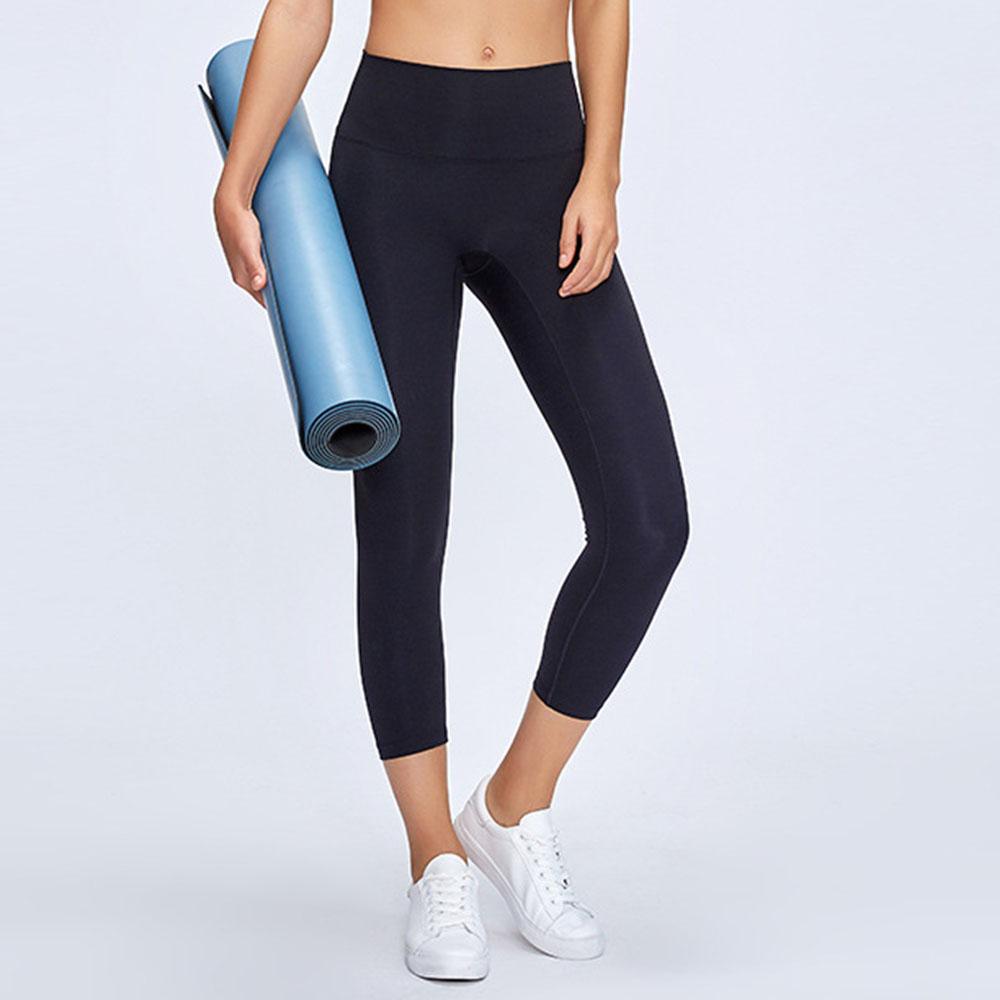Women's Soft High Waisted Yoga Pants Full-Length Athletic Workout Leggings Naked Feeling
