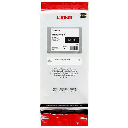 Canon PFI-320MBK 2889C001 Original Matte Black Toner Cartridge