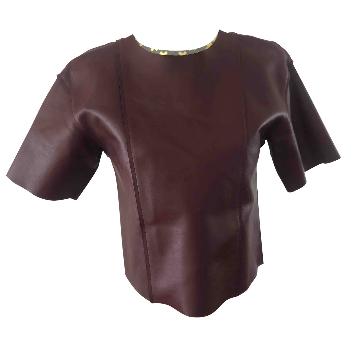 T By Alexander Wang \N Leather  top for Women 0 0-5