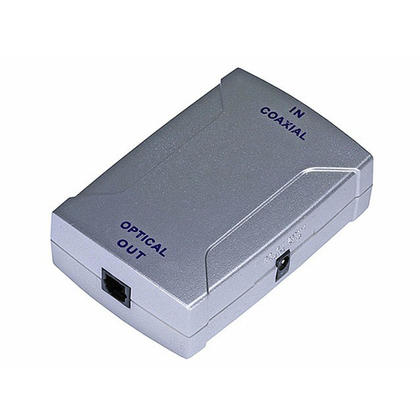 Digital Coaxial (RCA) to S/PDIF (Toslink) Digital Optical Audio Converter - Monoprice®