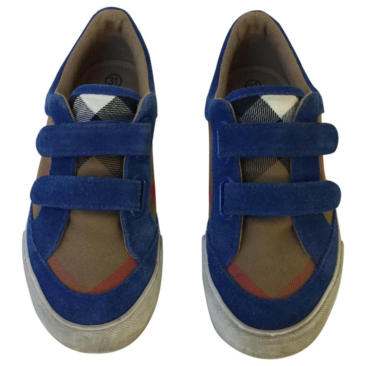 Burberry \N Multicolour Cloth Trainers for Kids 31 FR