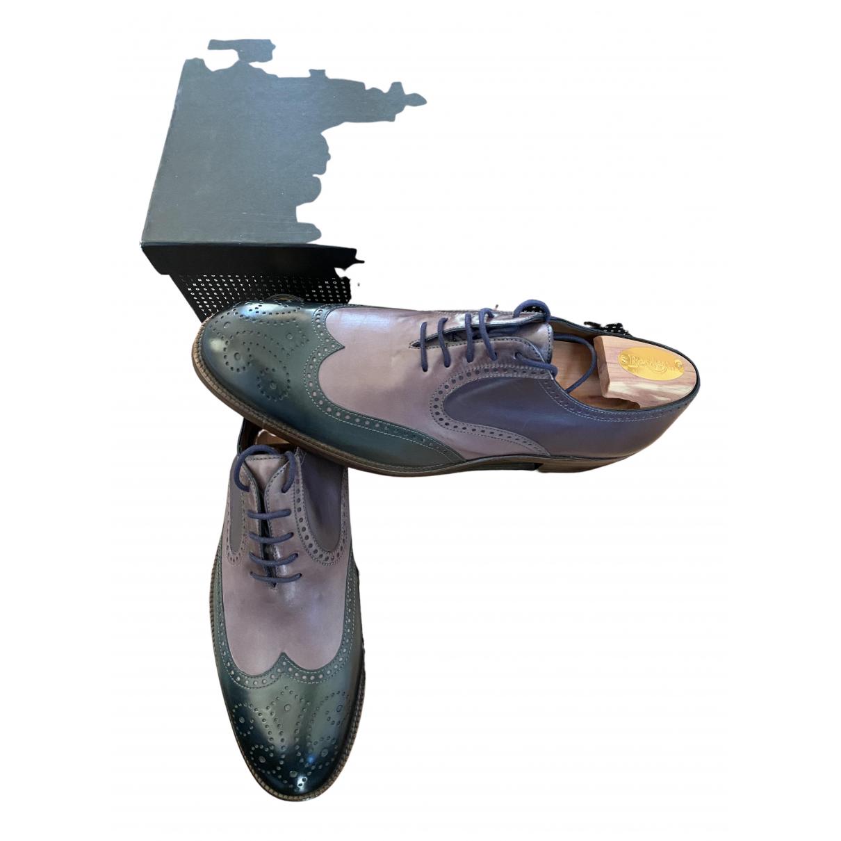 Fratelli Rossetti - Derbies   pour homme en cuir - multicolore