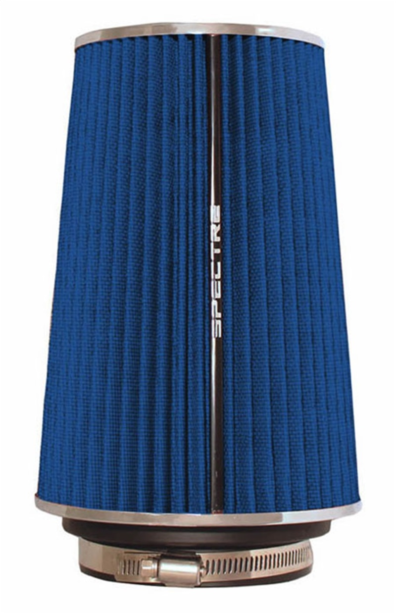 Spectre 9736 Adjustable Conical Air Filter 9-1/2in. Tall (Fits 3in. / 3-1/2in. / 4in. Tubes) - Blue