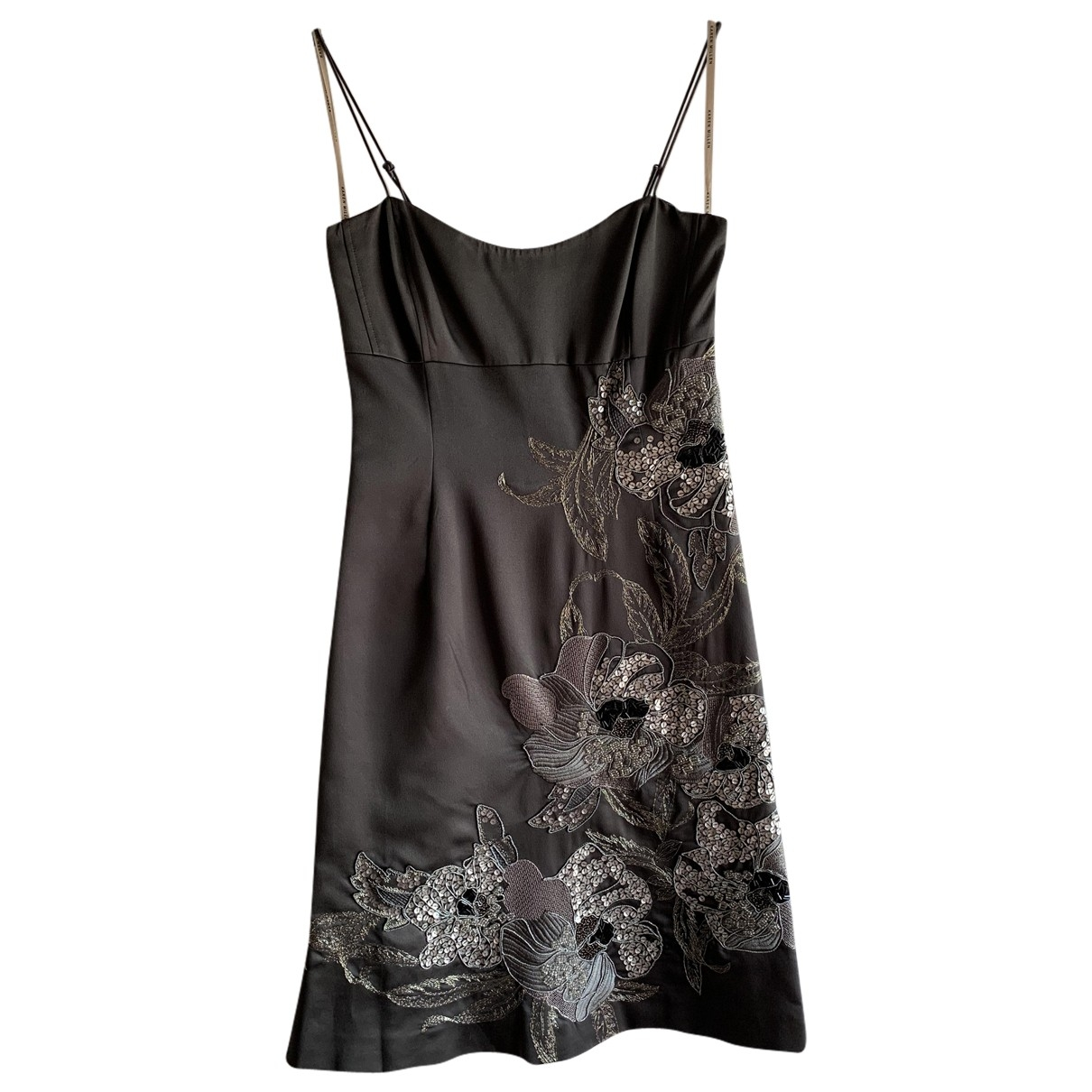 Karen Millen \N Kleid in  Grau Polyester