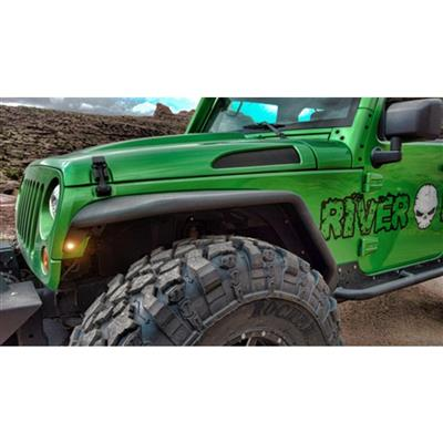 Hauk Offroad Front Tube Fenders - ARM-3010-07BE