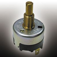 Copal Electronics SRF, 3 Position SP3T Rotary Switch, 6 A, Solder (25)