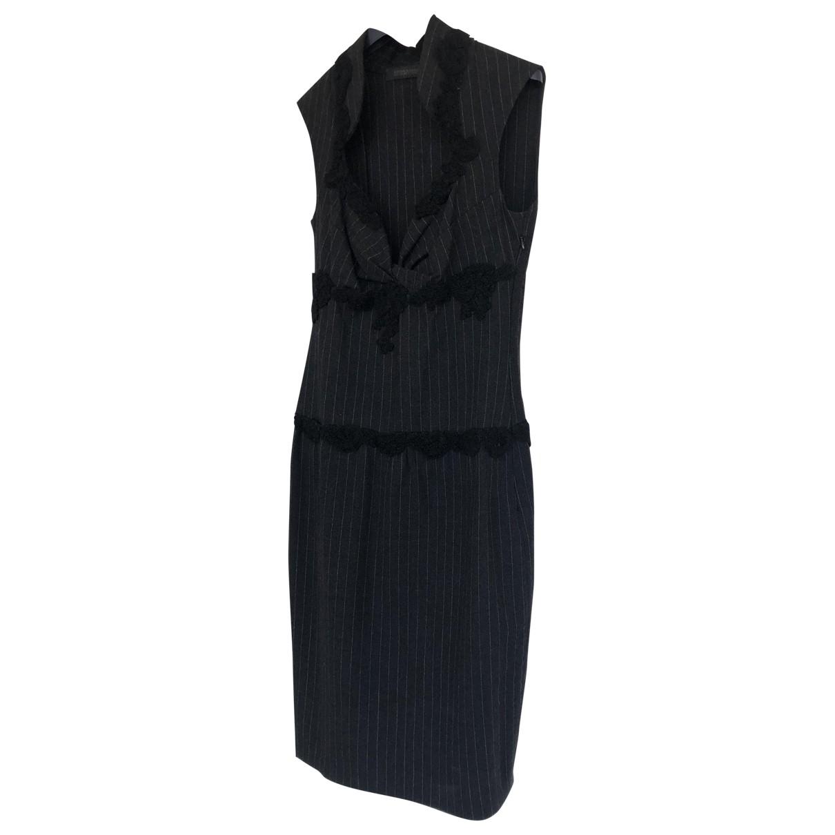 Ermanno Scervino - Robe   pour femme en laine - gris