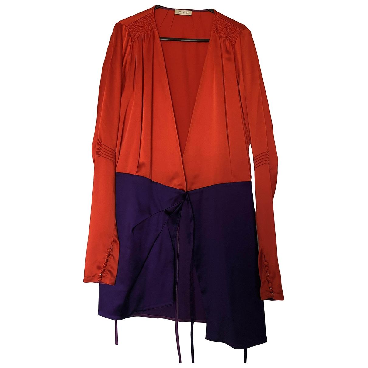 Attico - Robe   pour femme - rouge