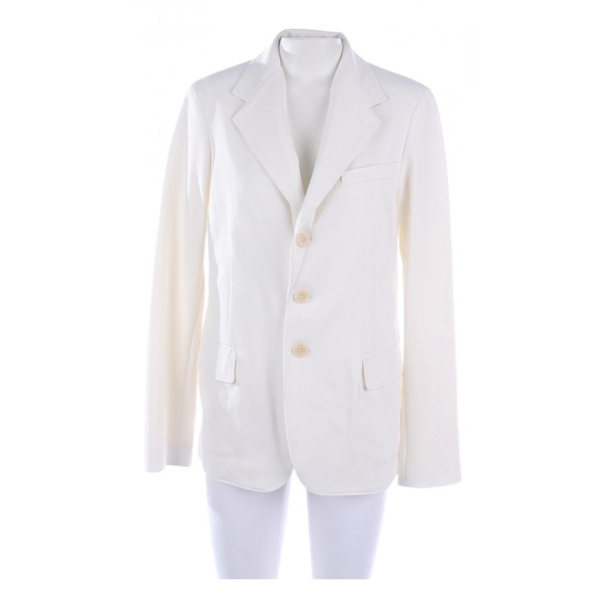 Polo Ralph Lauren - Veste   pour femme en coton - blanc