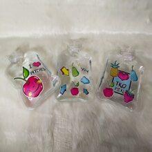 1pc Fruit Print Hot Water Bag