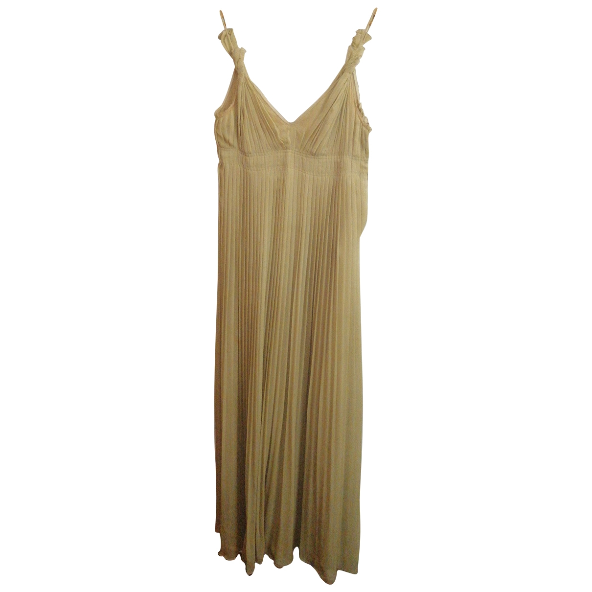 Maxi vestido de Seda Prada