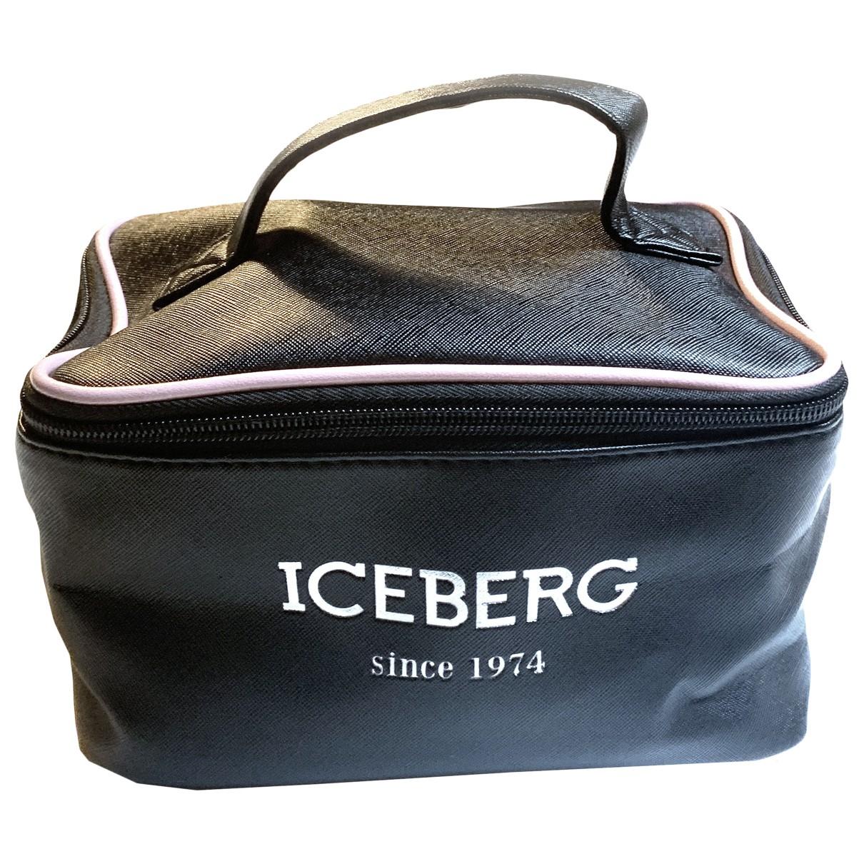 Iceberg \N Clutch in  Schwarz Synthetik