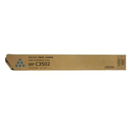Ricoh 841650 841738 Original Cyan Toner Cartridge