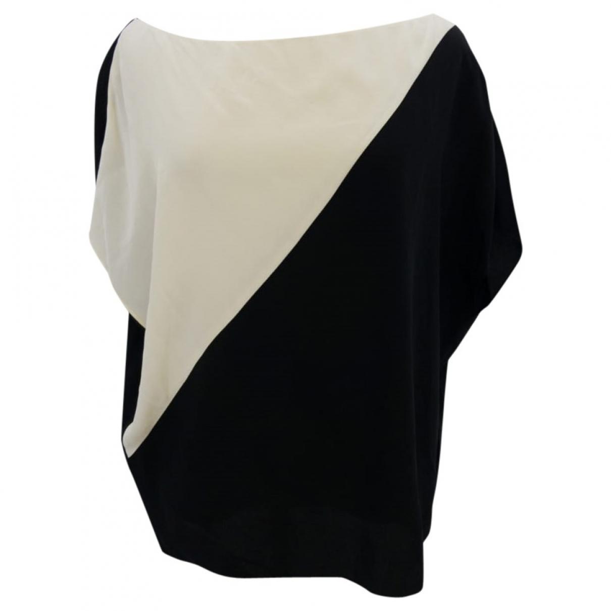 Lanvin - Top   pour femme en soie - multicolore