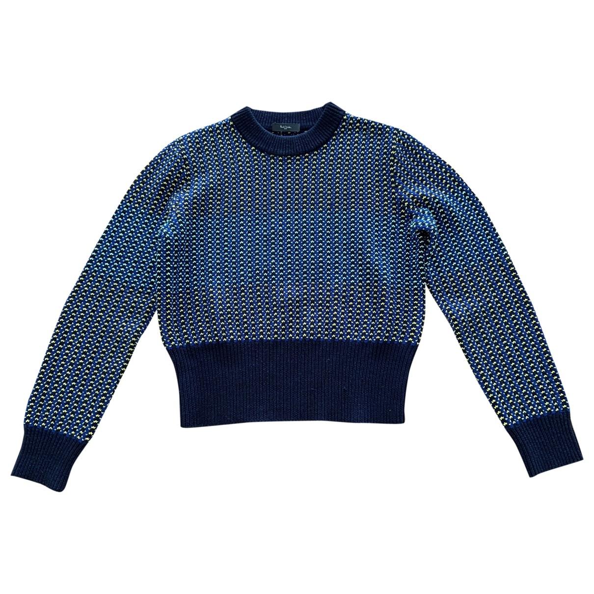 Paul Smith - Pull   pour femme en laine - marine