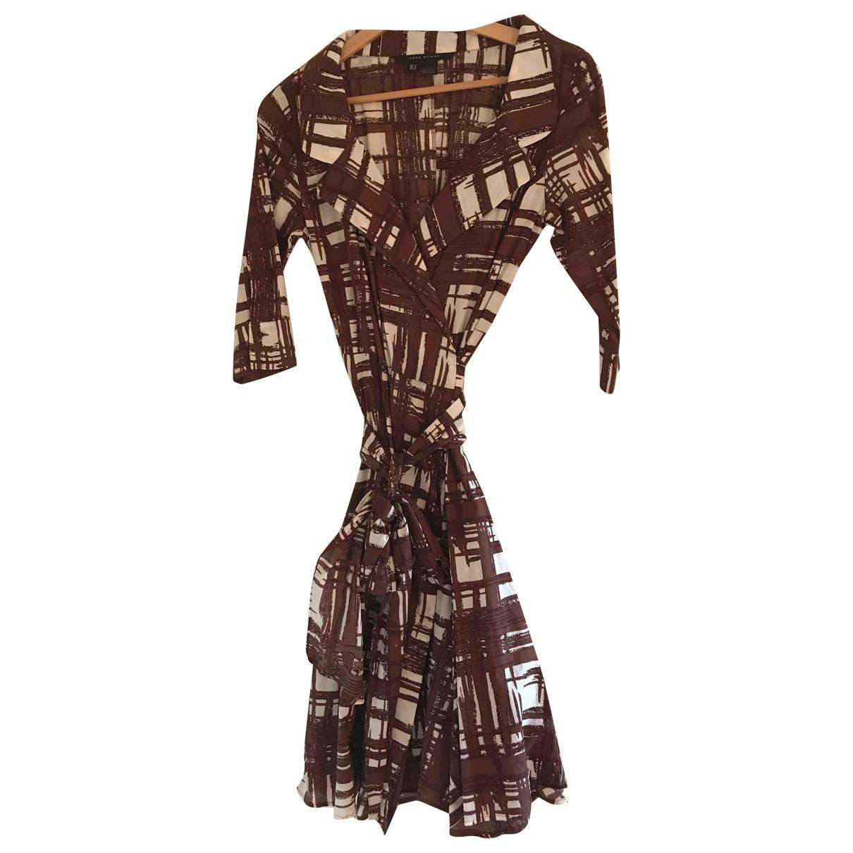 Zara \N Brown Cotton dress for Women M International