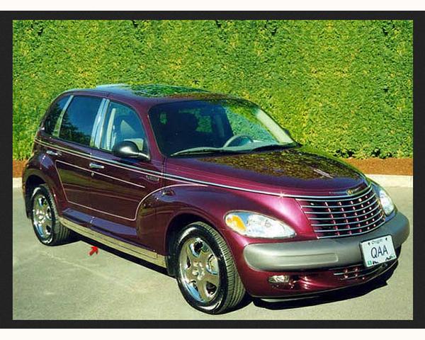 Quality Automotive Accessories 8-Piece Rocker Panel Accent Trim Kit Chrysler PT Cruiser 2010
