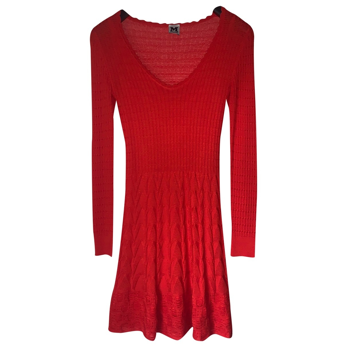 M Missoni \N Red dress for Women 36 IT