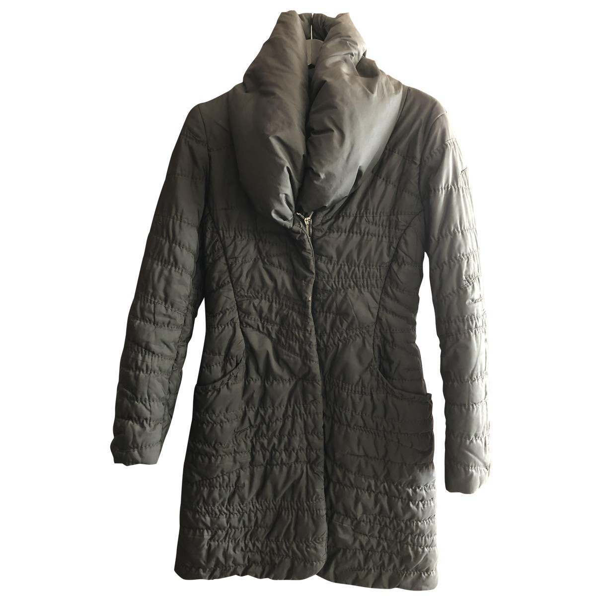 Ermanno Scervino \N Black coat for Women 44 IT