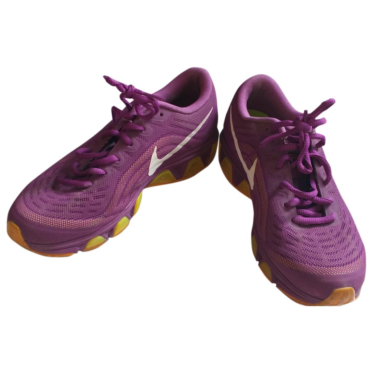 Nike - Baskets Air Max  pour femme en toile - violet
