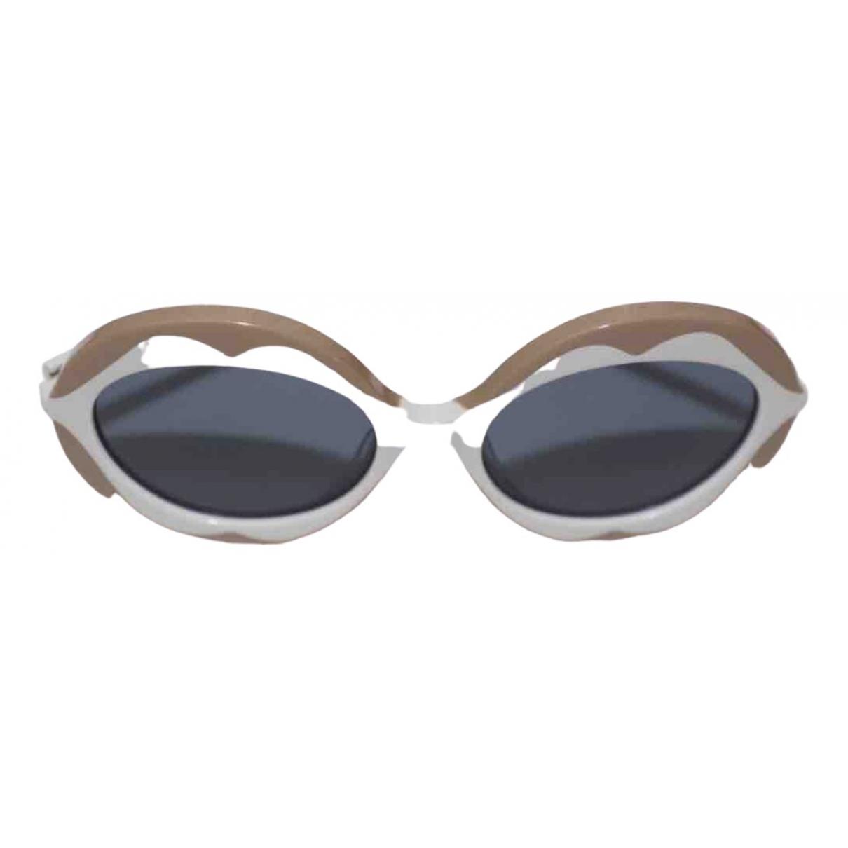 Marni \N Sonnenbrillen in  Weiss Kunststoff