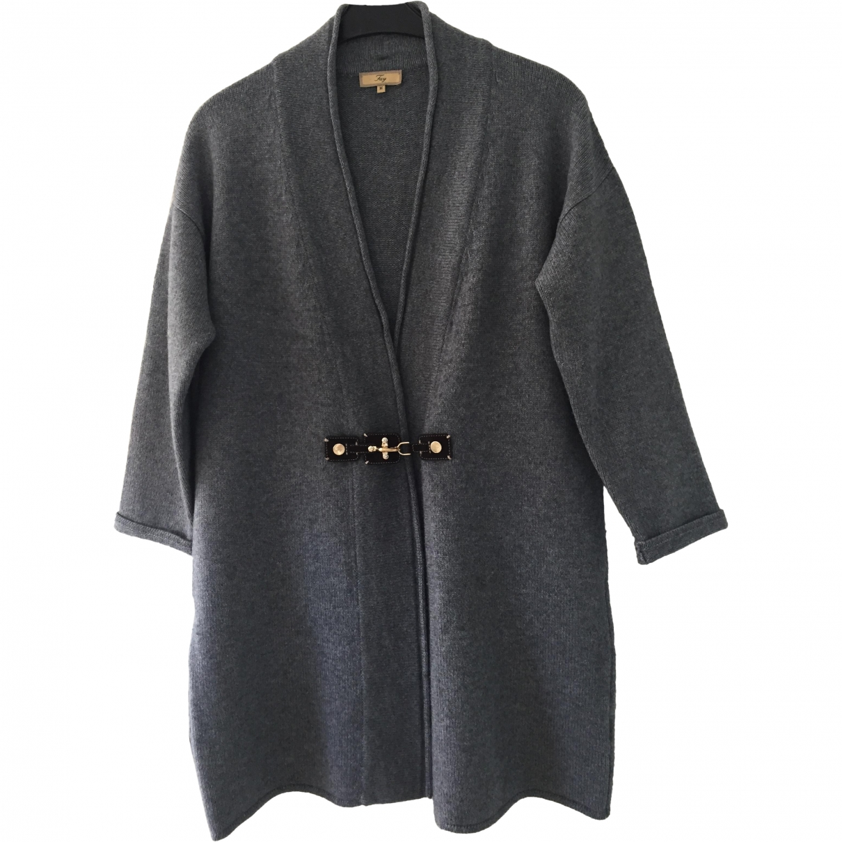 Fay \N Anthracite Cashmere jacket for Women M International