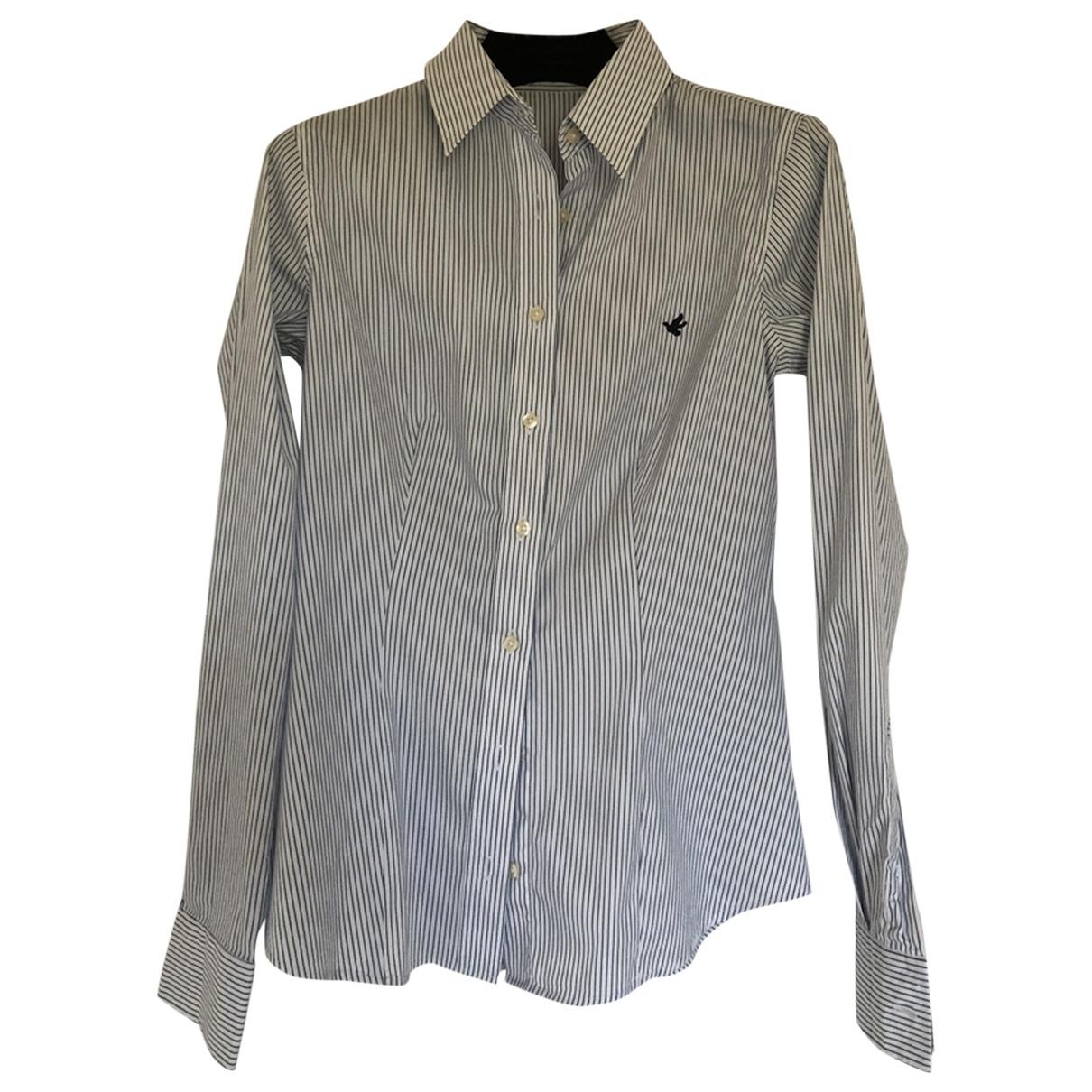 Brooksfield - Top   pour femme en coton - blanc