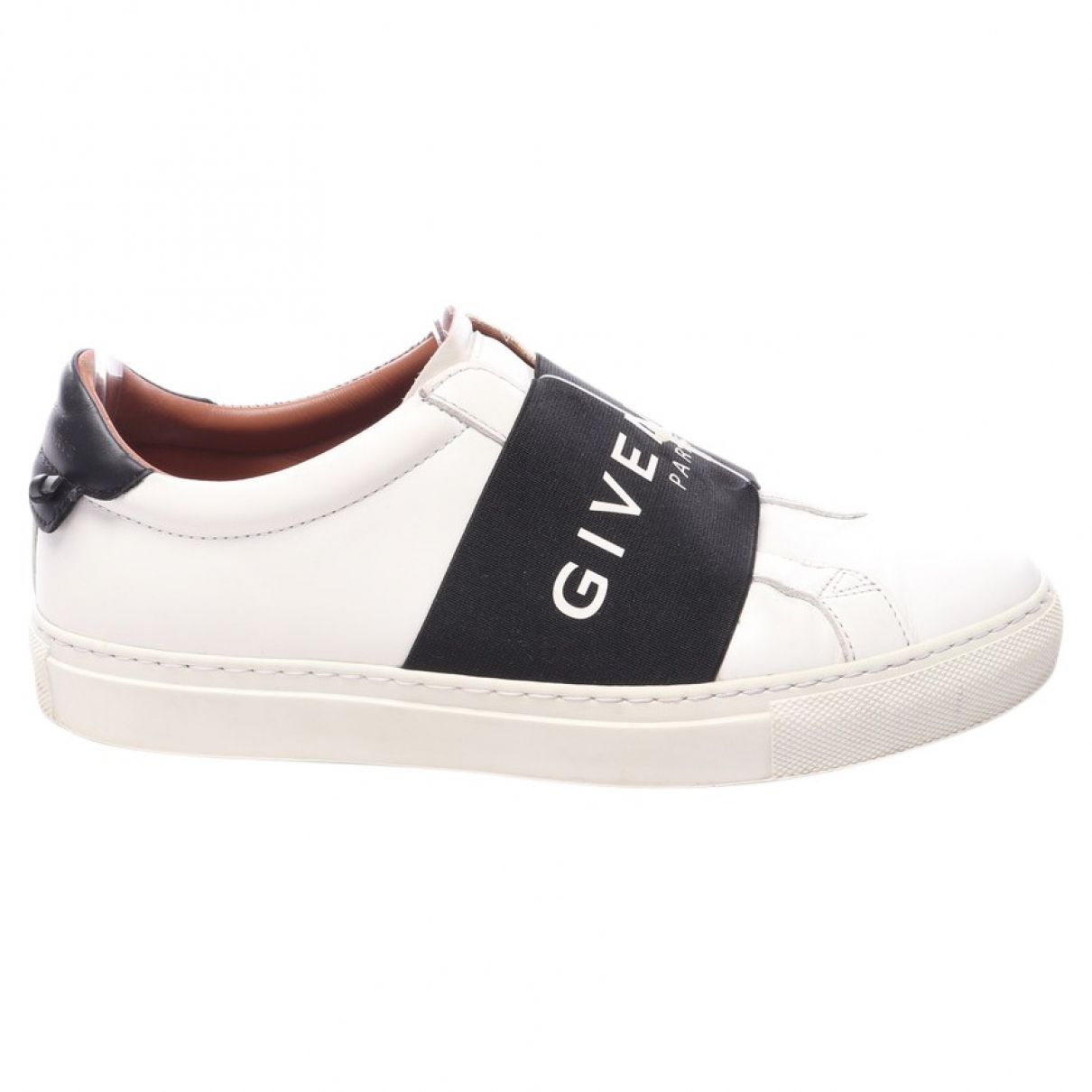 Givenchy N White Leather Flats for Women 40 EU