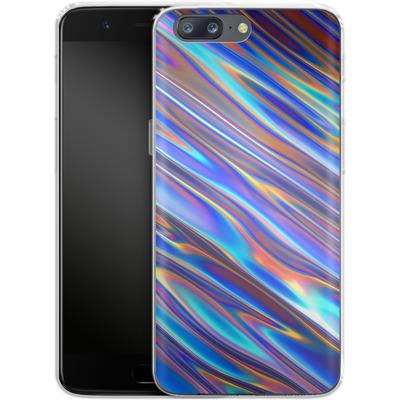 OnePlus 5 Silikon Handyhuelle - Iris von Danny Ivan