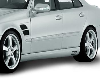 Lorinser 488 0211 40 Exclusive Left Side Skirt Mercedes-Benz E-Class Sedan 07-09