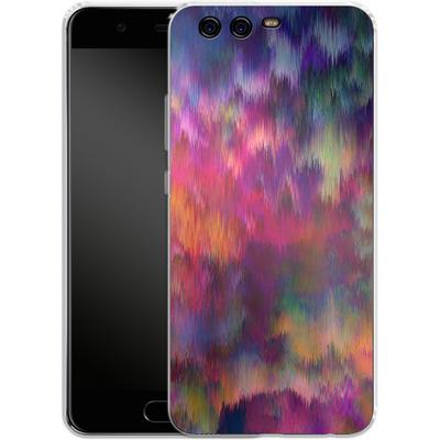 Huawei P10 Silikon Handyhuelle - Sunset Storm von Amy Sia