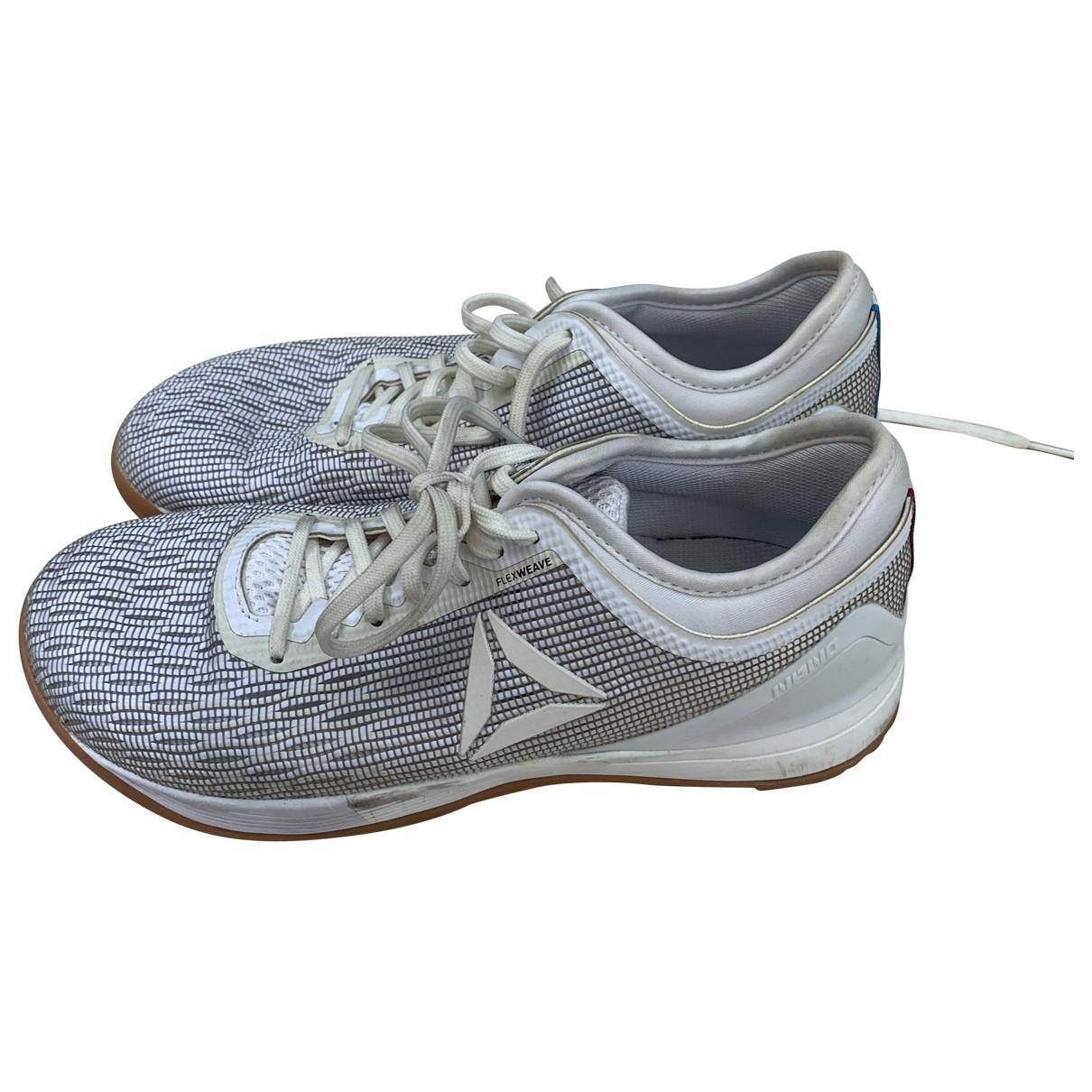 Reebok \N Sneakers in  Weiss Kautschuk