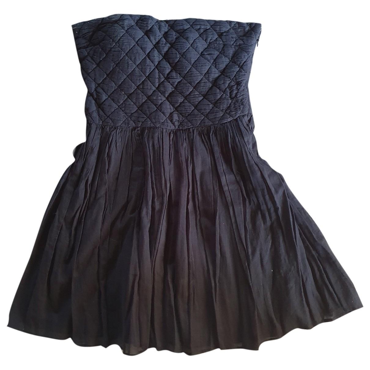 Pablo \N Kleid in  Schwarz Baumwolle