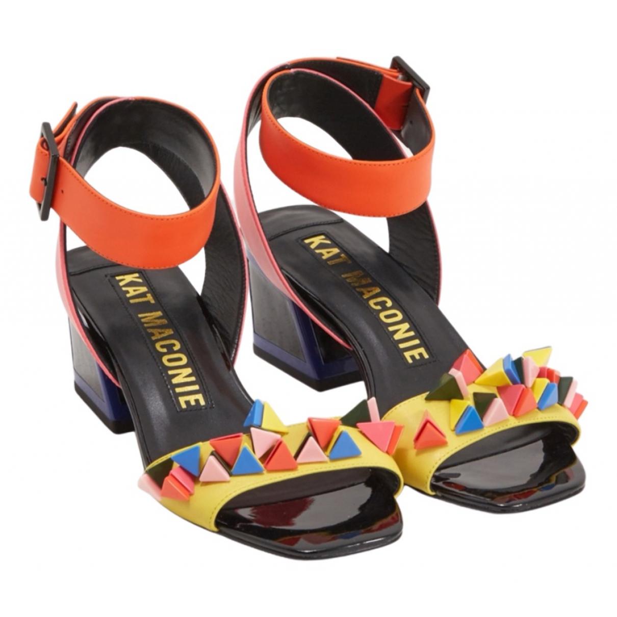 Kat Maconie - Sandales   pour femme en cuir - multicolore