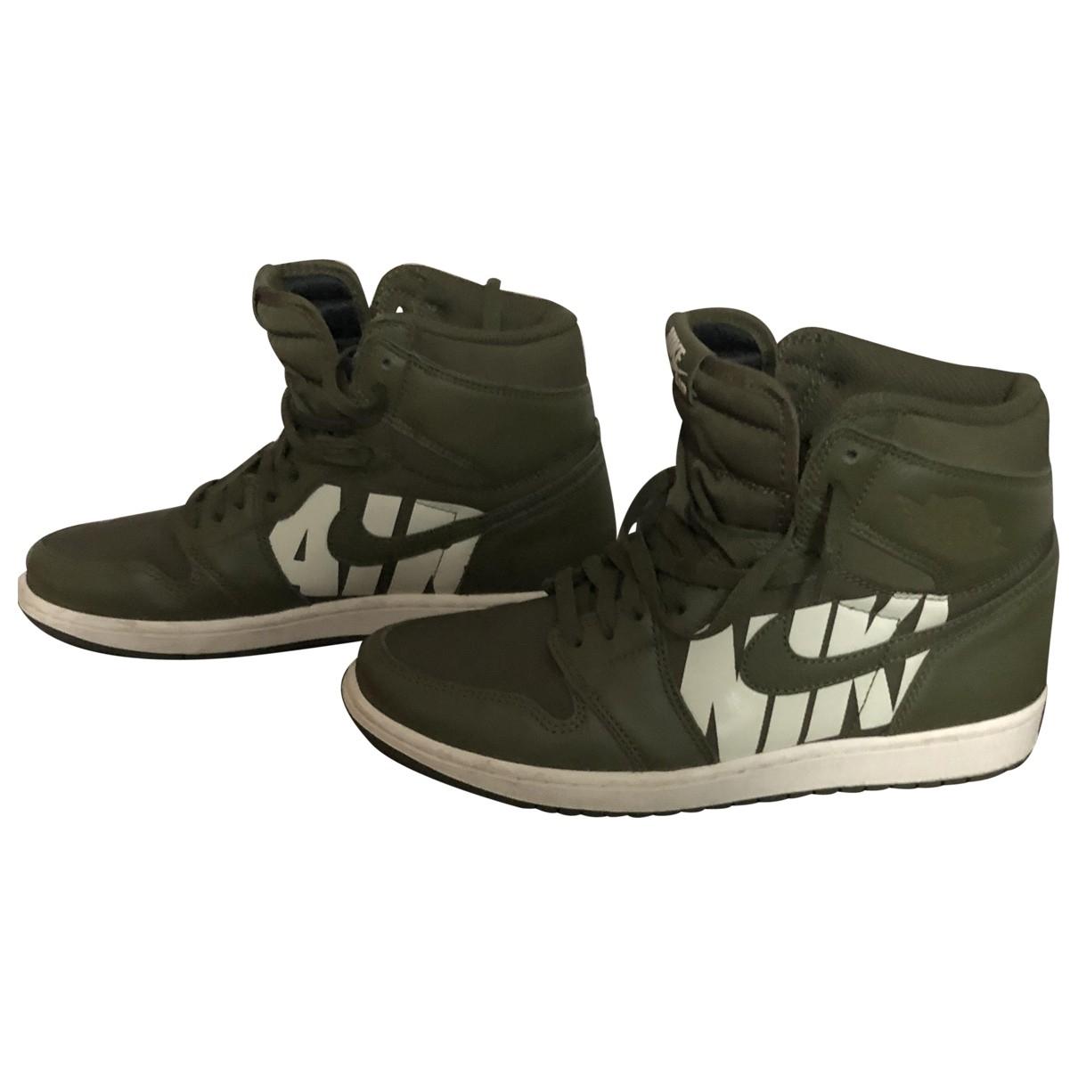 Nike - Baskets SB Dunk  pour homme en caoutchouc - vert