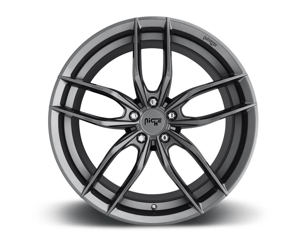 Niche M204 Vosso Anthracite 1-Piece Cast Wheel 18x8 5x114.3 30mm