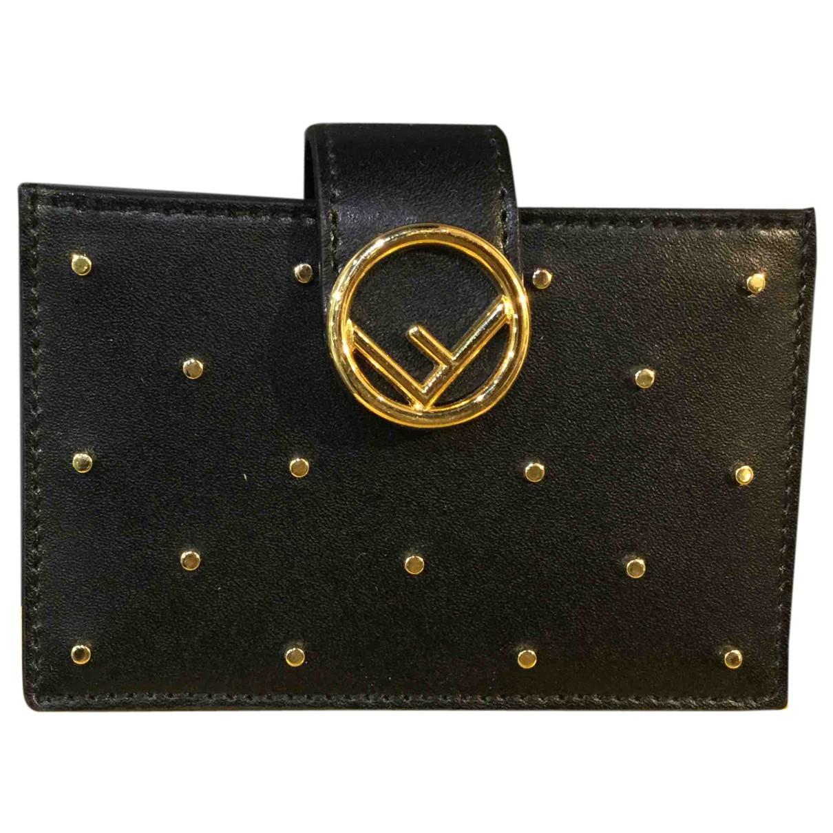 Fendi N Black Leather Purses, wallet & cases for Women N